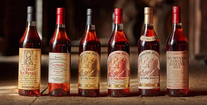 Pappy Van Winkle Whiskeys
