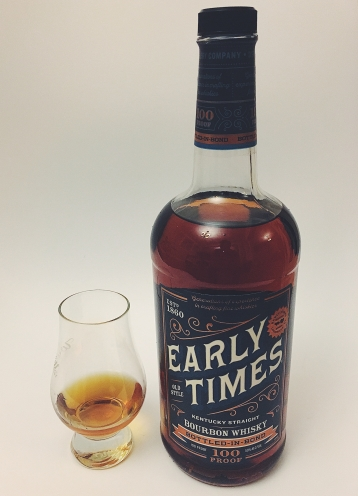 Early Times Bottled In Bond Bourbon Whiskey