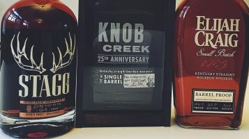 Barrel Proof Bourbons